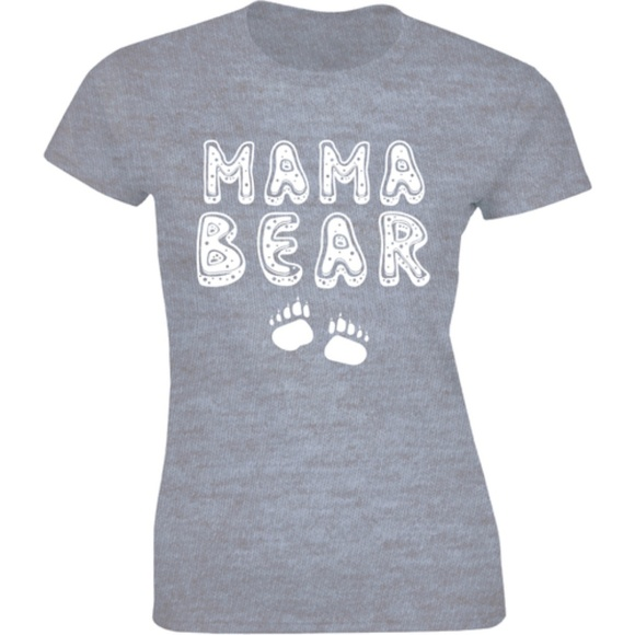 Half It Tops - Mama Bear Small Bear Mother's Day Mom Life T-shirt